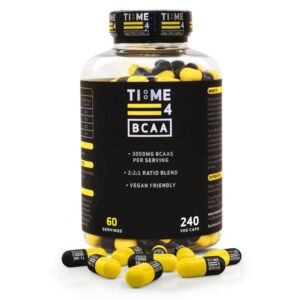 WHAT ARE BRANCHED-CHAIN AMINO ACIDS-BCAA-Time 4-Veg Caps