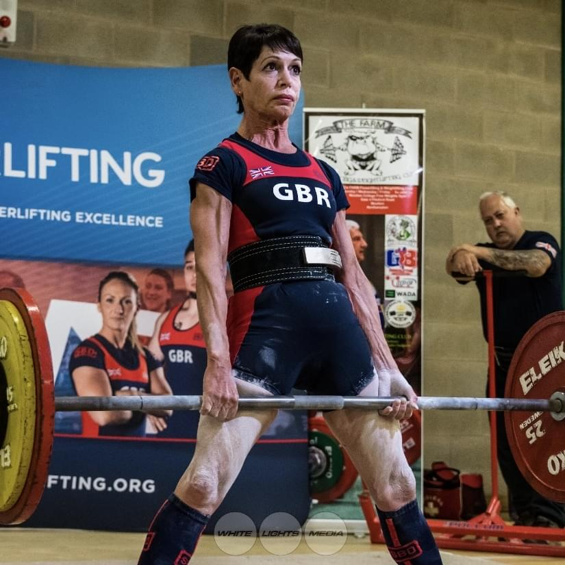 Marina wins the Worlds for 3rd time, as well as British & European Powerlifting championships too!