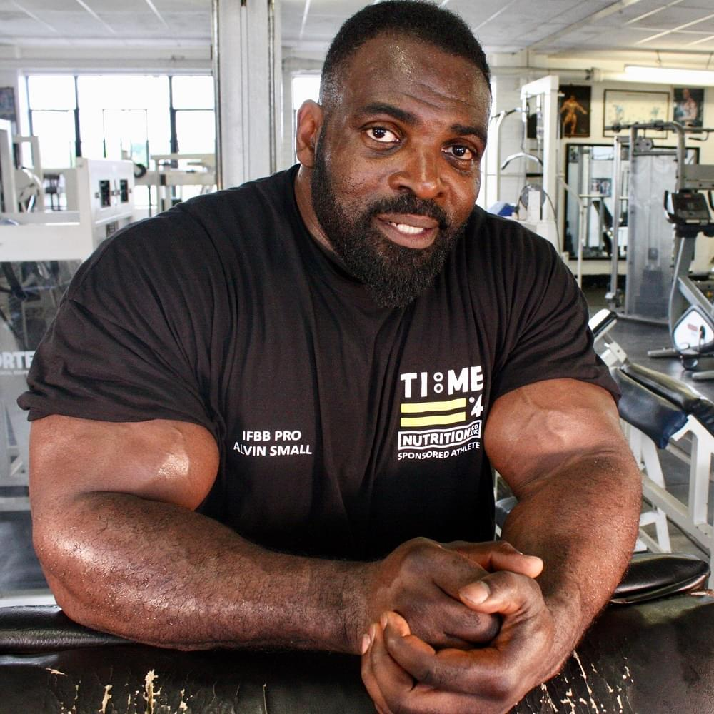 Time 4 Nutrition sponsored athlete Alvin Small interview.