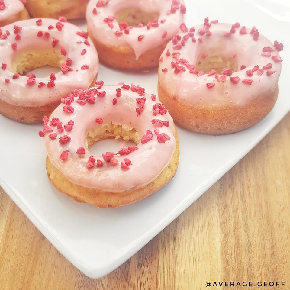 test Time 4 Raspberry Ripple Ice Cream Doughnuts