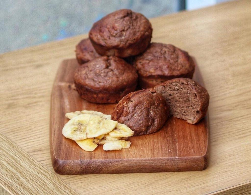 test Time 4 Double Chocolate Mousse Protein Muffins