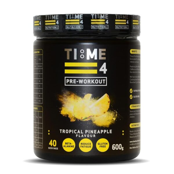 Time 4 Pre-Workout, Lemon Sherbet