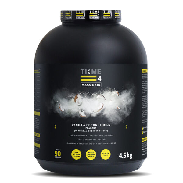 Mass Gainer-Time 4 Nutrition