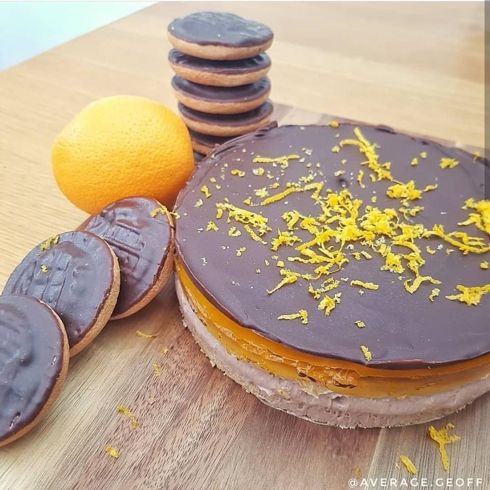 test Time 4 Protein Jaffa Cake Cheesecake