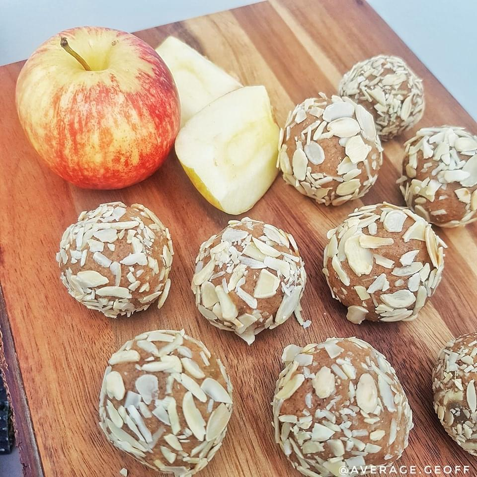 test Time 4 Toffee Apple Protein Balls