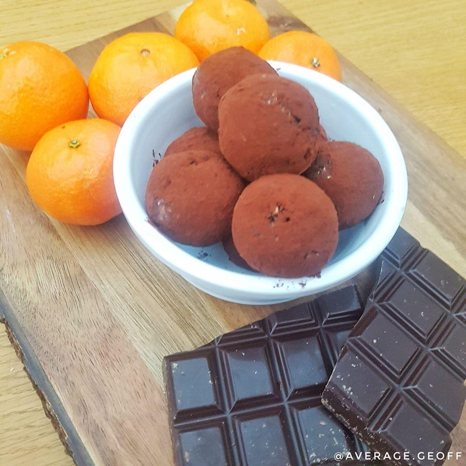 test TIME 4 Choc Orange Protein Balls
