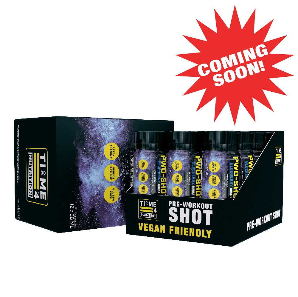 NEW TIME 4 NUTRITION PRE-WORKOUT SHOTS COMING SOON