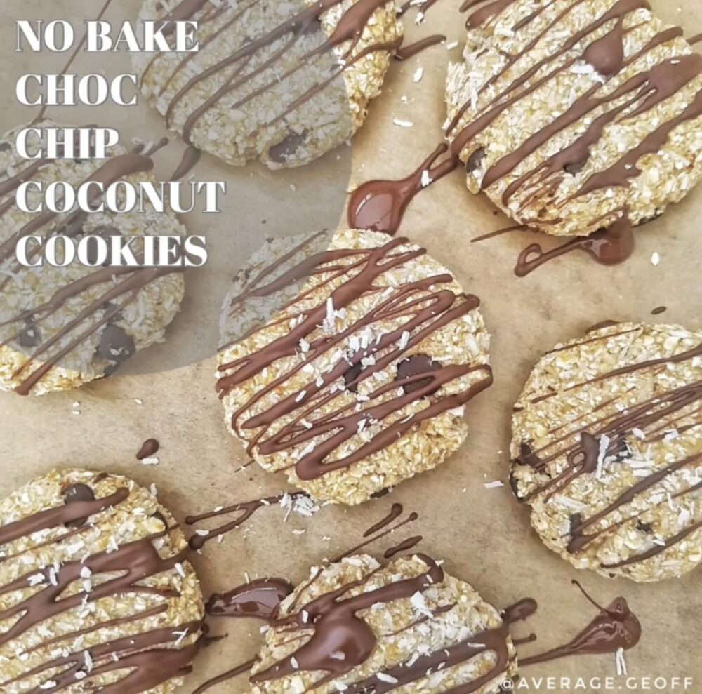 test Time 4 No Bake Coconut Protein Cookies