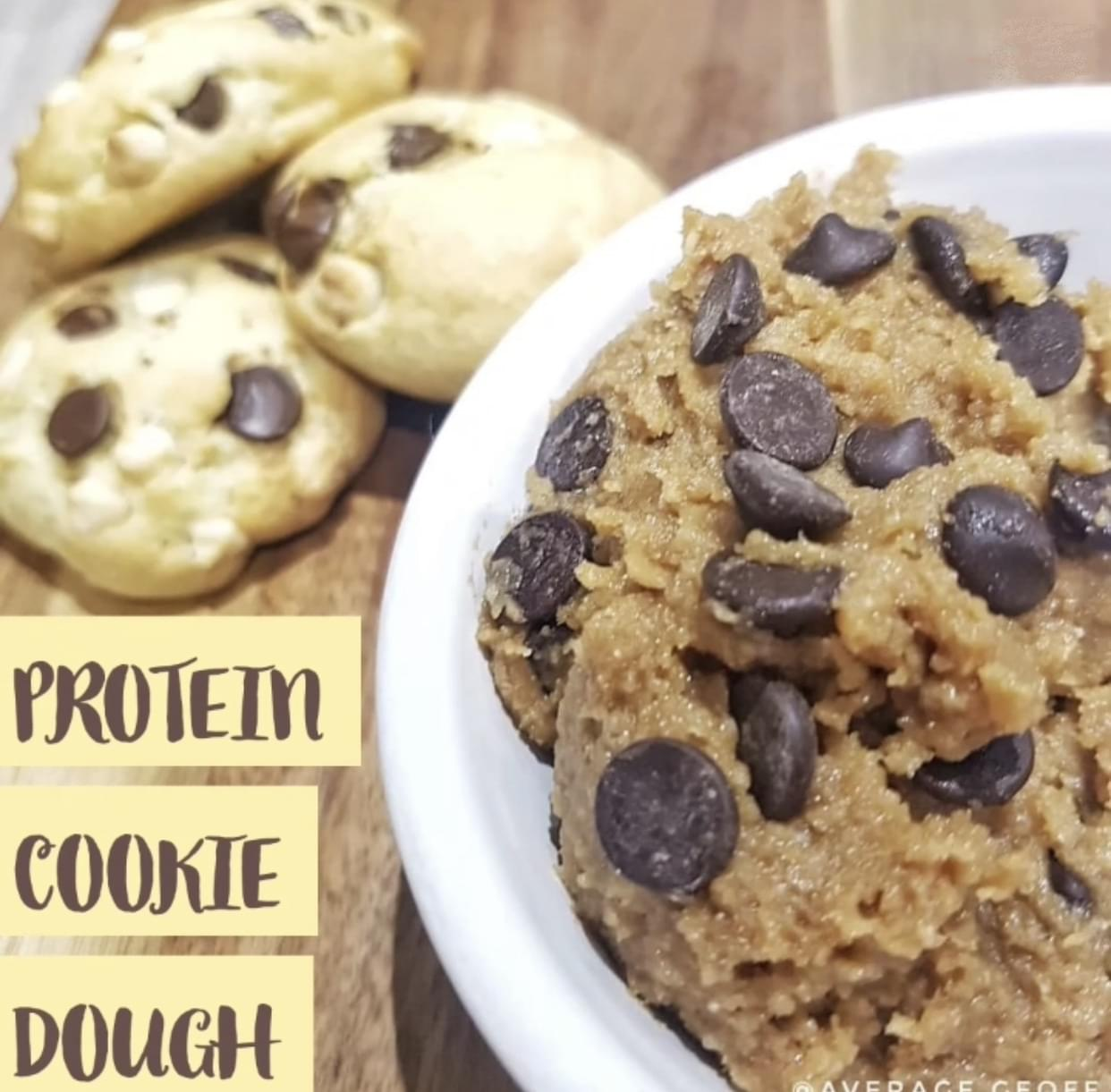 test Time 4 Protein Toffee Cookie Dough