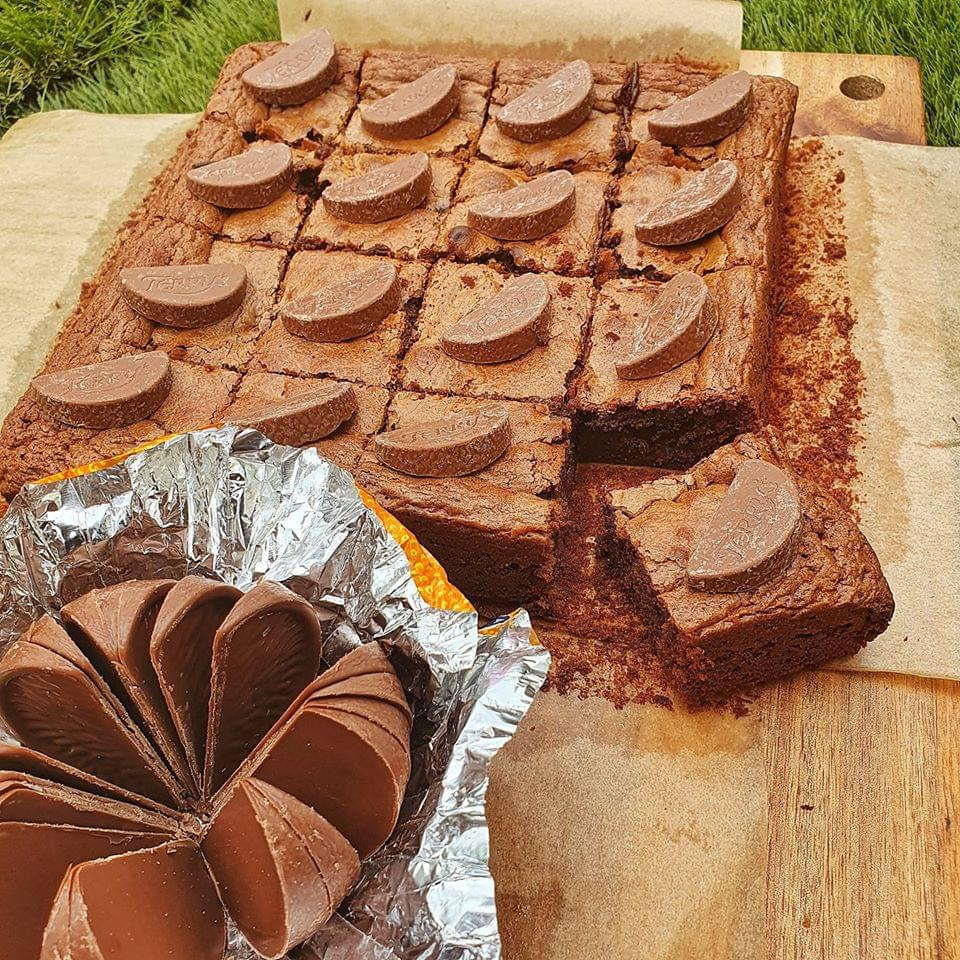 test Time 4 Chocolate Orange Protein Brownies