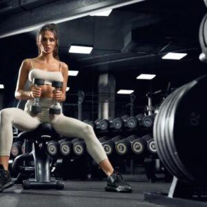 Resistance training programme-Female Fitness Model
