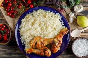 Eating For Muscle Growth, Chicken & Rice