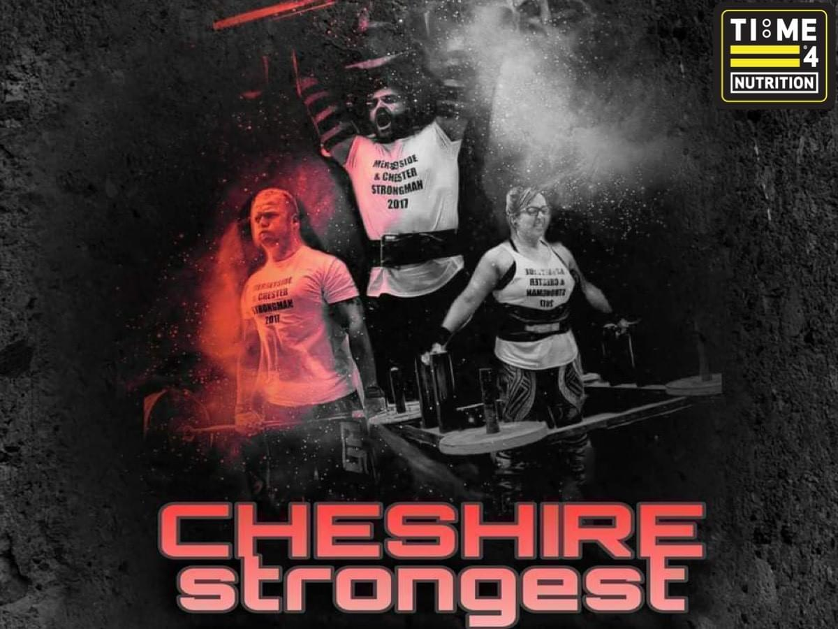 test TIME 4 NUTRITION ARE PROUD TO SPONSOR Cheshire Strongest 2020