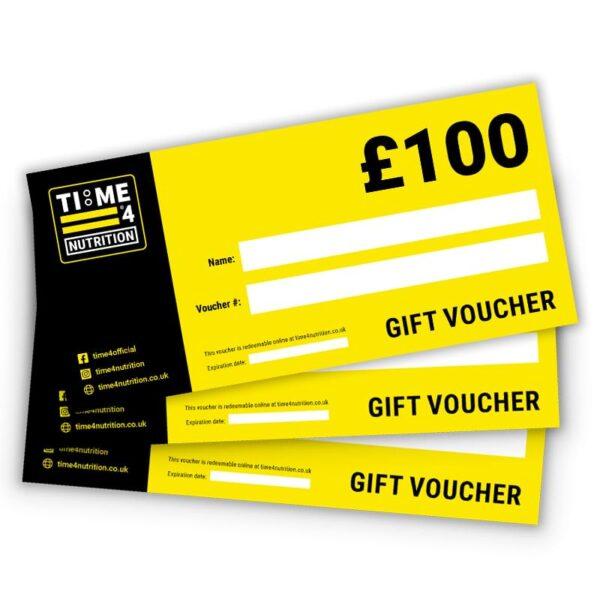Gift Voucher, £100, Time 4 Gift Voucher