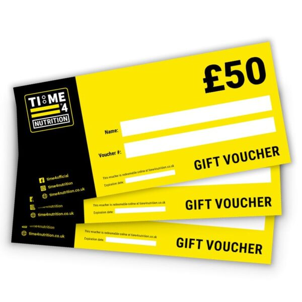 Time 4 £50 gift voucher