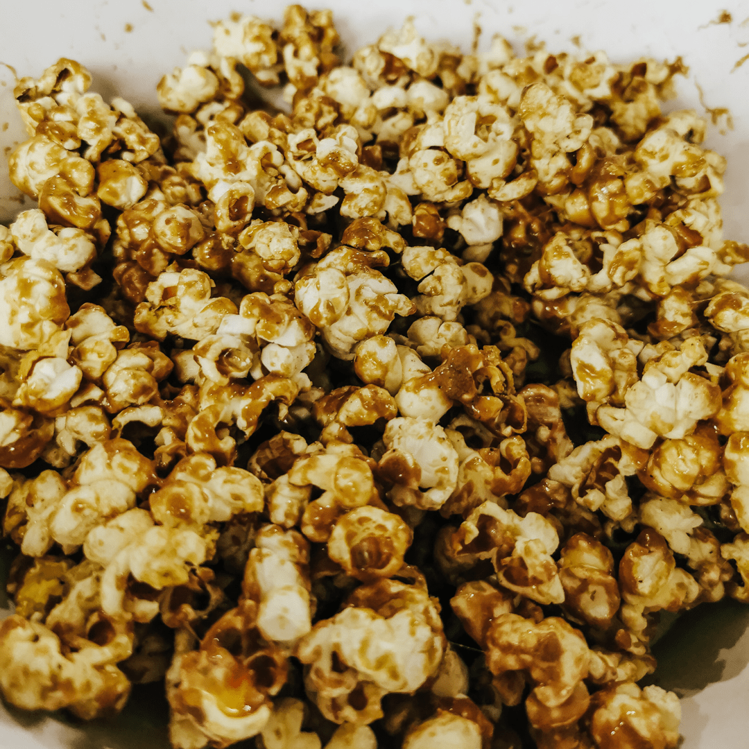test TIME 4 TOFFEE POPCORN