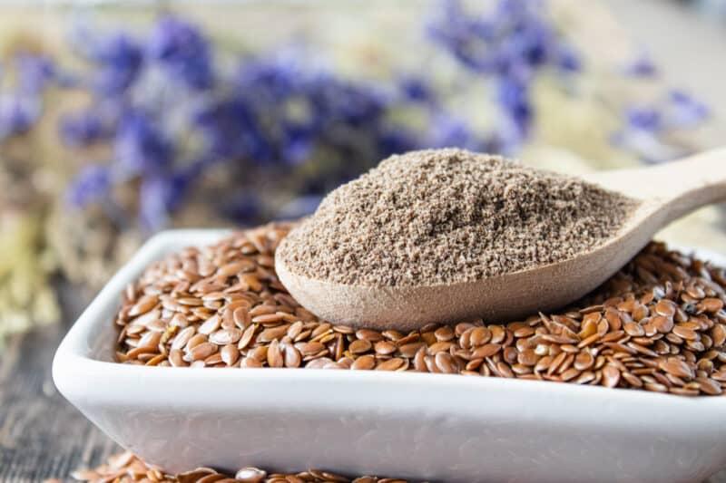 Crushed,Flax,Seed-Mass Gain