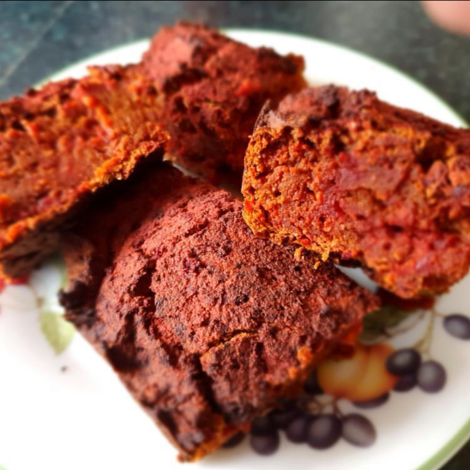 test Time 4 Beetroot, Coconut and Chocolate Protein Cake